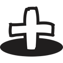 Add, plus, Cart, handrawn, create, doodle, user Black icon