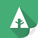green, document, plant, eco, leaves, Forrst, greenery Icon