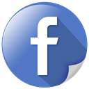 Hand, share, fb, Facebook, Book SteelBlue icon