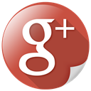 web, share, themes, google plus, socialpack Sienna icon