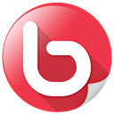 Communication, webicon, Photographs, talk, web, Bebo Crimson icon