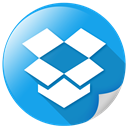 package, Social, dropbox, internet, storage DodgerBlue icon
