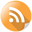 File, Page, Rssfeed, Copy, rss feed SandyBrown icon