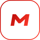 Mega, line Black icon