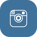 photos, Instagram SteelBlue icon