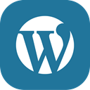 Blogging, Wordpress, blog DarkCyan icon