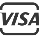 visa DarkSlateGray icon