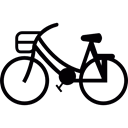 ride, Pushbike, Bike, Bicycle, sports, travel Black icon