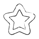 bookmark, gold, rating, Favorite, star, rate Black icon
