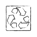 environment, recycle, ecology, eco, Clean, utilization Black icon