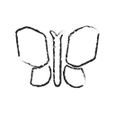 caterpillars, bird, Grid, butterfly, insect, creative Black icon