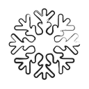 forecast, winter, christmas, weather, Snow Icon