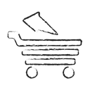 Business, Cart, ecommerce, webshop, online, open cart Icon