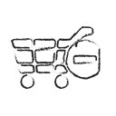 online, Cash, buy, Cart, Shop, shopping, payment Black icon