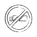 warning, no smoking, smoking, quite Black icon