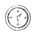 event, Alarm, Direction, watch, Clock, Alert, compass Black icon