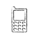 phone, technology, Communication, network, Call, Connection, Mobile Black icon