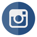 Circle, Instagram, media, Social DarkSlateBlue icon