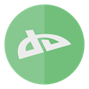 Social, Circle, media, Deviantart DarkSeaGreen icon
