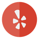 Circle, media, Yelp, Social Chocolate icon