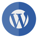 Wordpress, Circle Icon