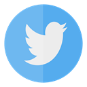 Circle, media, twitter, tweet, Social SkyBlue icon