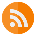 Circle, Rss DarkOrange icon