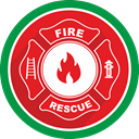 Fireman, firefighters, Burn, Flame, security, fire Crimson icon