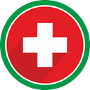healthcare, doctor, hospital, Drug, cross, health Crimson icon