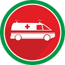 Ambulance, emergency, fire, doctor, medical, Pharmacy, medicine Icon