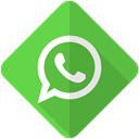 Whatsapp, Message, phone, Call, Chat, Contact, talk LimeGreen icon