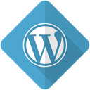 web, website, media, blog, Wordpress, press, Social SteelBlue icon