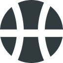 player, Ball, sport, Basket, play, Dribble, Game DarkSlateGray icon
