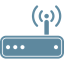 network, Wifi, router, Lan, internet, wireless, Communication CadetBlue icon