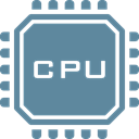 hardware, processor, electronics, Chip, Cpu, microchip, Computer CadetBlue icon