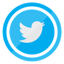 Social, media, twitter, tweet, Follow DeepSkyBlue icon