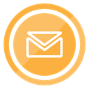 Letter, Contact, envelope, Email SandyBrown icon