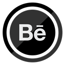 Behance, website, online, webdesign, web DarkSlateGray icon