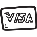 shopping, payment, Credit card, ecommerce, Money, visa Black icon
