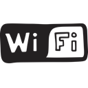 wireless, Access, Wifi, internet, Connection Black icon