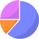 chart, statistics, Analytics, Diagram, graph CornflowerBlue icon