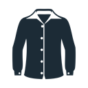 Man, fabric, Clothes, Shirt, long, sleeves, clothing DarkSlateGray icon