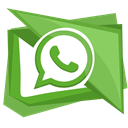 Whatsapp, whatsup, App, whats OliveDrab icon