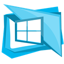 windows, Application, window, Page, Browser LightSkyBlue icon