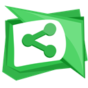 media, Social, widget, Sharethis, web LimeGreen icon