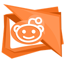 Social, Reddit, Logo, network, media Coral icon