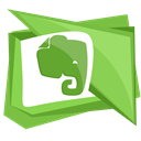 Social, Note, Evernote, elephant, media YellowGreen icon