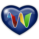 media, Social, Googlewave MidnightBlue icon