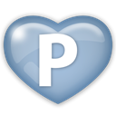 media, Pingfm, Social LightSteelBlue icon