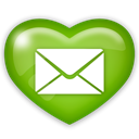 media, Email, mail, Social OliveDrab icon